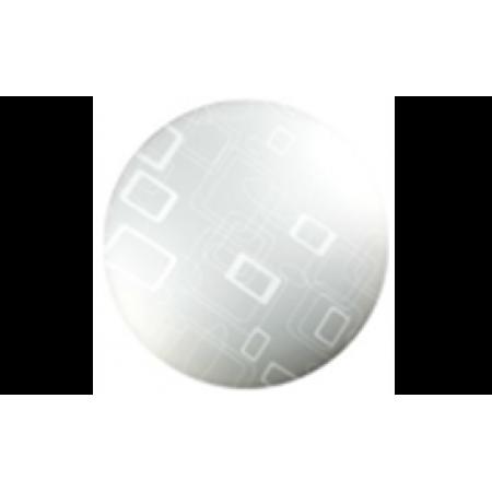 0202-0301 Потолочно-настенный светильник LED 24W 6400K, 300мм, ультратонкий круглый Геометрия