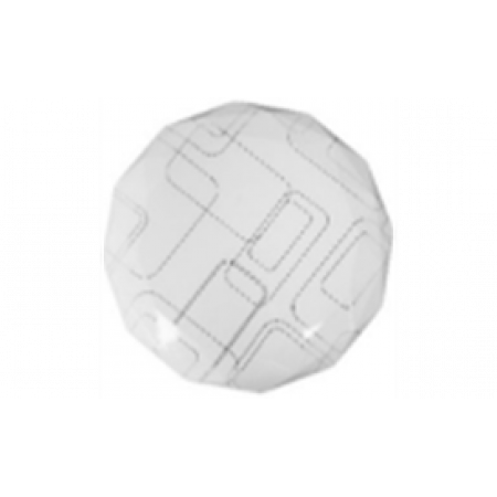 0208-0201 Потолочно-настенный светильник LED 18W 6400K, 300мм, ультратонкий многоуг-к Линии