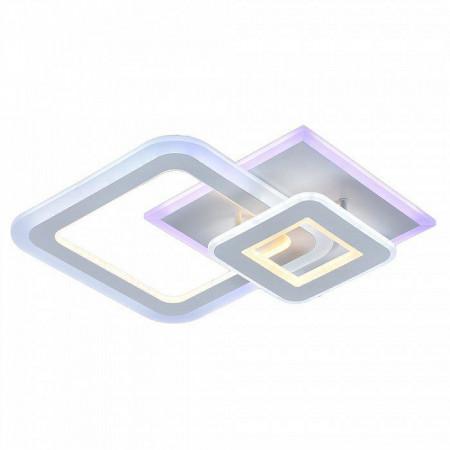 Светодиодная люстр 8795/2 WHT (BL+YL)