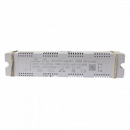 Комплектующие LED DRIVER 2.4G BT - CX(25-40W)*4+220V