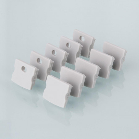 Комплект заглушек для накладного алюминиевого профиля светодиодной ленты (10 пар) Elektrostandard ZLL-2-ALP001-R