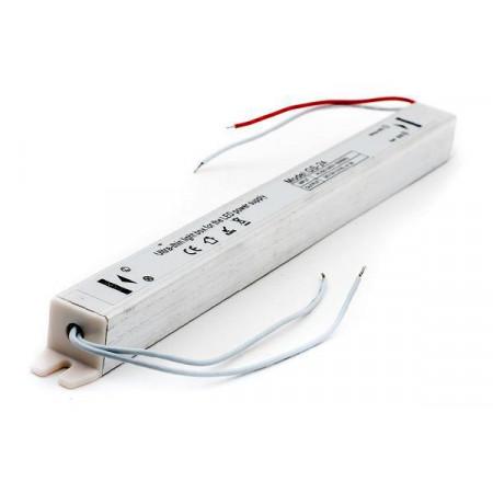 Блок питания для светодиодной ленты  PS S LED 36W 12V DC IP20 245*17*17 узкий