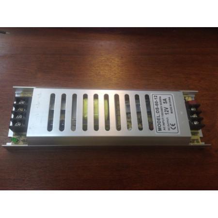 Драйвер svk для LED ленты IP20- 60W 220/12В Компактный