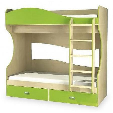 Кровать в детскую комнату Комби NEM_kombi_mh_211_06