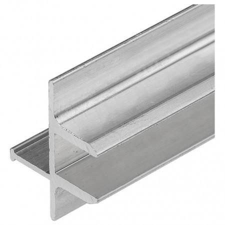 Профиль встраиваемый мебельный [2 м] TOP-GLASS8-2D-2000 016976
