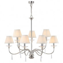 Люстра Elstead Lighting FP9 POL NICKEL FINSBURY PARK