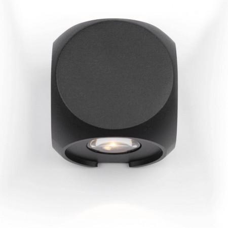 Уличный настенный светодиодный светильник Maytoni Bond Street O015WL-L4B
