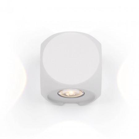 Уличный настенный светодиодный светильник Maytoni Bond Street O015WL-L4W