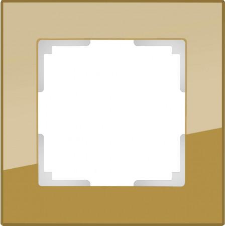 Рамка Werkel Favorit на 1 пост бронзовый WL01-Frame-01 4690389098567